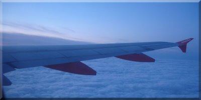Volando a Roma.