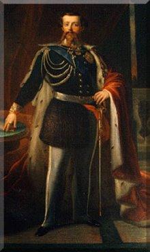 Retrato de Vittorio Emanuele II