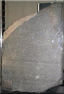 Piedra de Rosetta - Museo Británico (Londres)