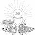 Desenhos para Colorir - Eucaristia