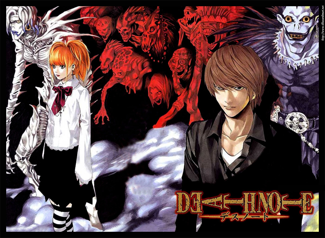 What animes watched u recently or do u like? Death_note02