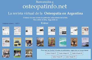 Osteopatinfo - Revista Argentina de Osteopatía