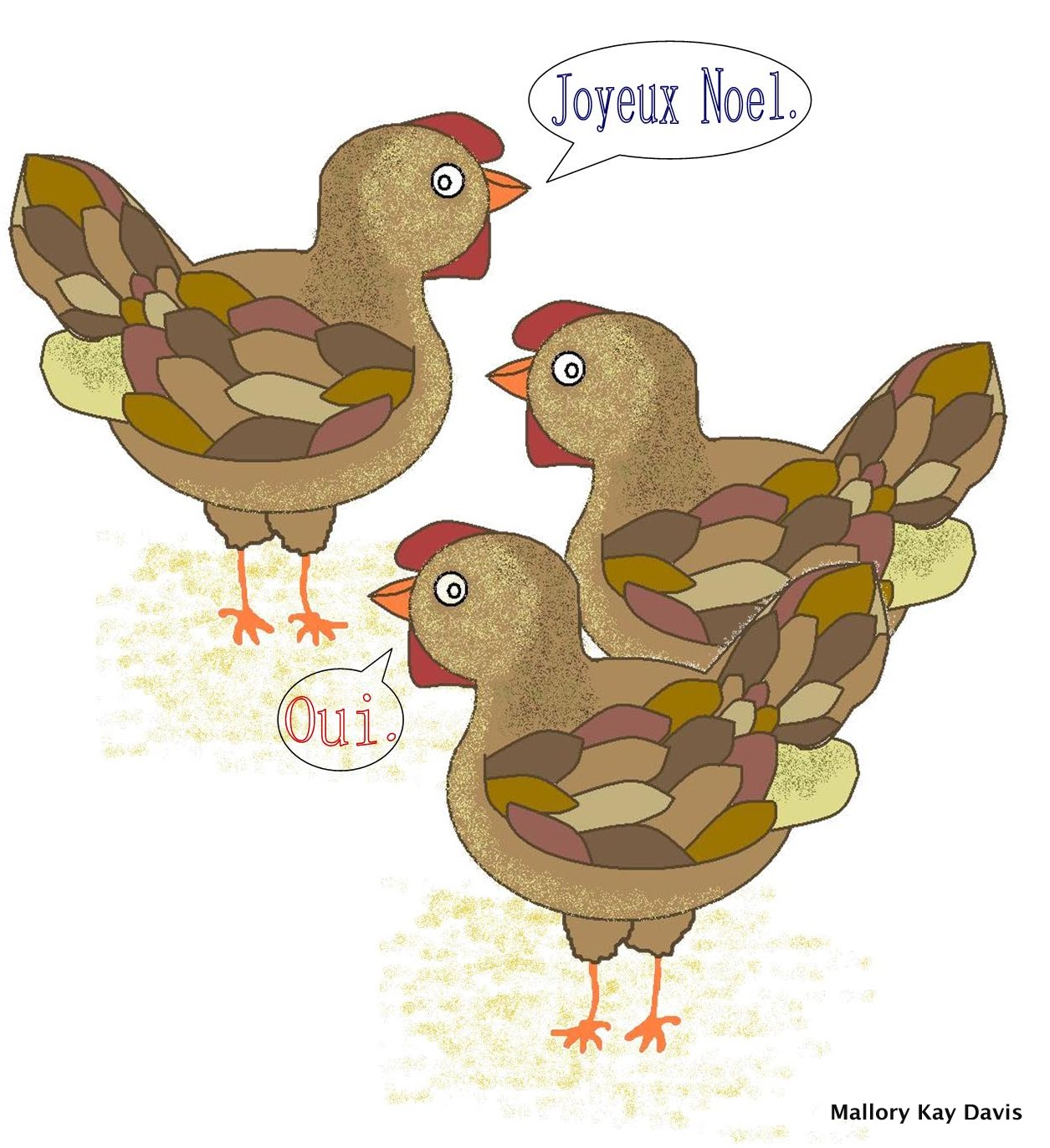 Gallery For > 3 French Hens
