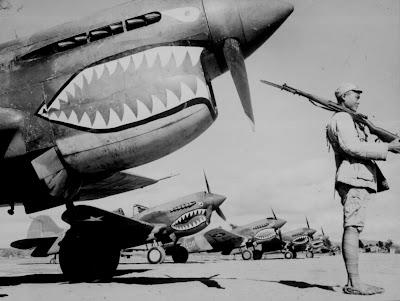 Especial Segunda Guerra Mundial. Imagenes Ineditas Avionestiburones