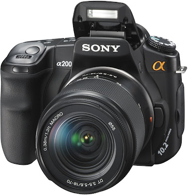 Sony Alpha DSLR A200