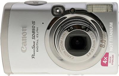 Canon SD850 - not titanium