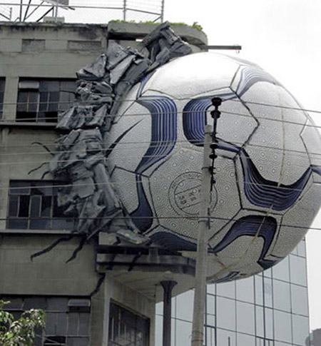 Football Advertising - FIFA World Cup Illusions