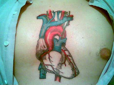 Realistic Heart Tattoo Designs