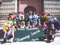 BALLET FOLKLORICO HUAMANGA SEÑORIAL