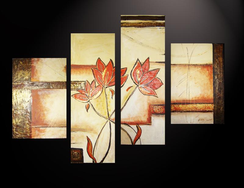 Free download cuadros abstractos flores modernas dipticos for Cuadros tripticos abstractos