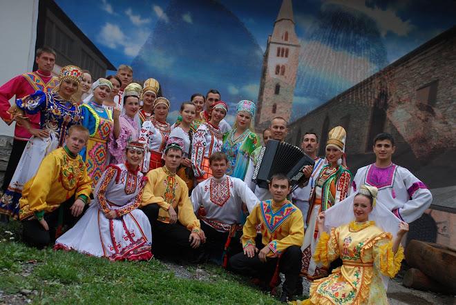 La République Oudmourte de Russie fait honneur à Savièse le 1er Août 2008.