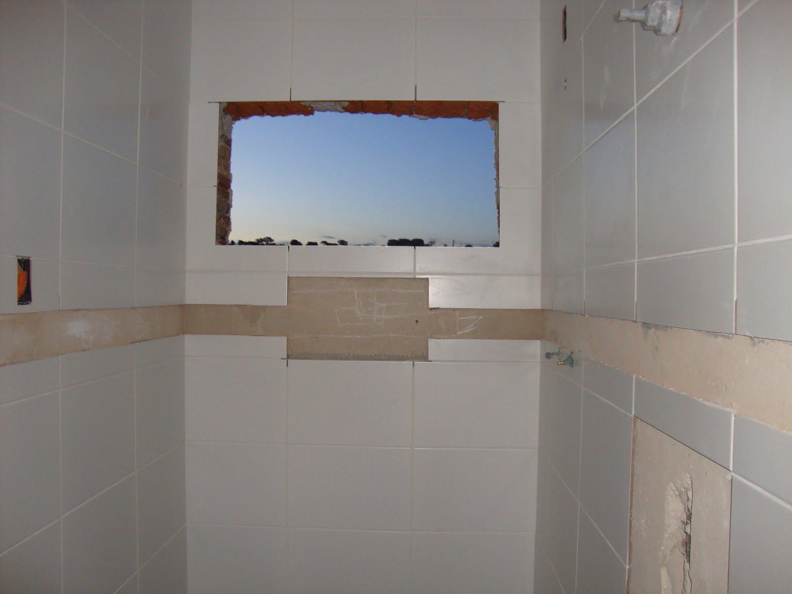 Construindo sobre a rocha Meu nicho, Gessos e fotos da obra -> Nicho De Banheiro Medidas