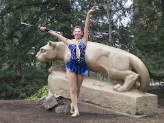 Penn State Majorette:  Nicollette Airhart