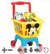 Disney - Mickey Shopping Trolley