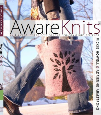 AwareKnits - a book by Adrienne Armstrong and Vickie Howell AKcvr