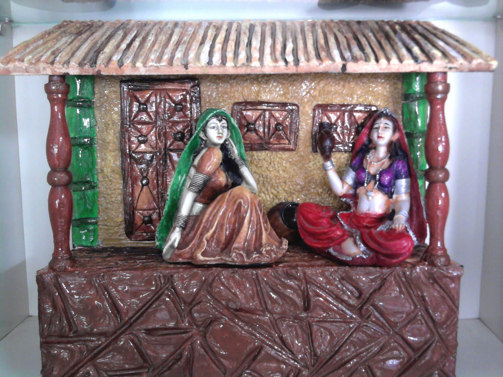 Neelam arts and craft classes beautiful hand made murals for Arts and crafts mural