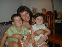mi hermana susana y sus hijos