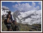 Dos cosas que adoro: mis hijos y la alta montaña