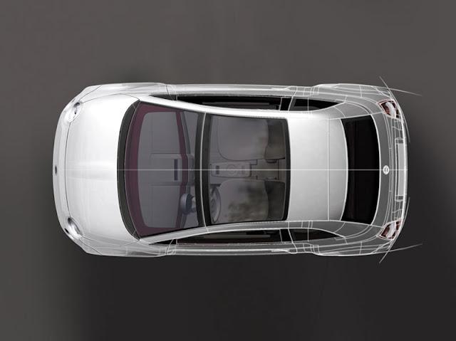 New Fiat 500 top