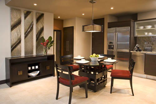 A Contemporary Yet Natural Look Where An Earthy Palette Is Accented With  Exotic Textures Describes This Furniture Package.