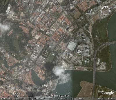 Circuito F1 Singapur : La guarida del dragón negro un espacio lúdico f en noche negra
