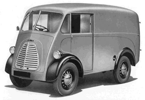Morris J type Van