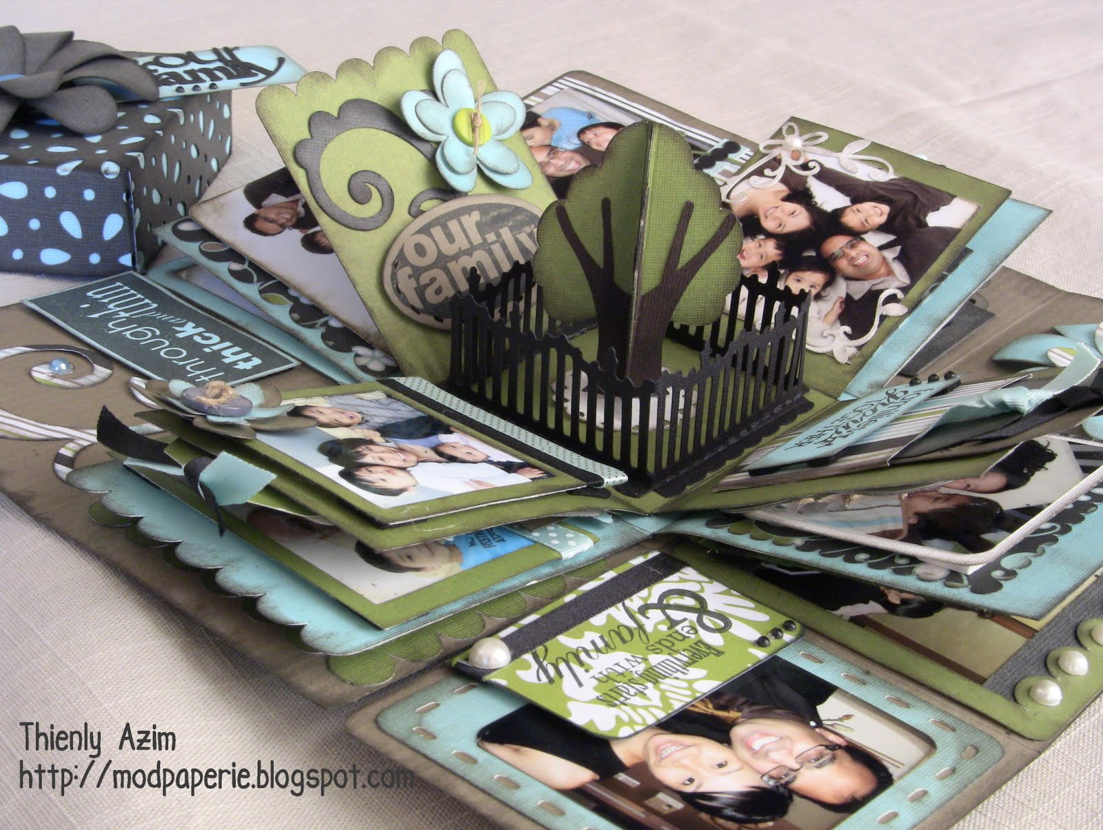 mod paperie our family explosion box. Black Bedroom Furniture Sets. Home Design Ideas