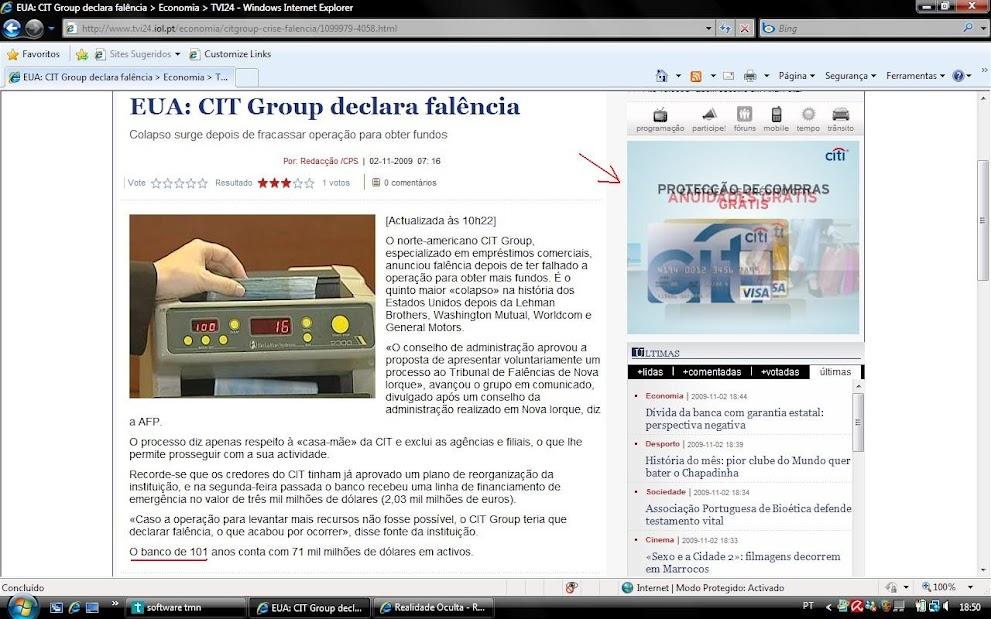 Grupo CITI faliu