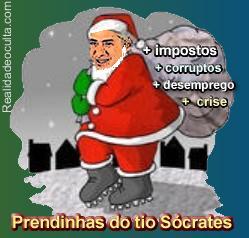 Prendinhas do tio Sócrates