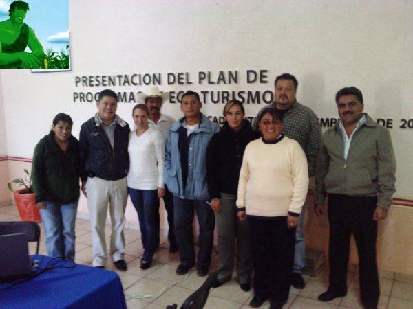 PRESENTACION DEL PLAN DE PROGRAMAS DE ECOTURISMO EN CADEREYTA
