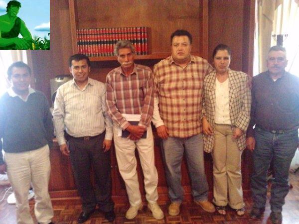 REUNION CON FUNCIONARIOS DE CADEREYTA Y DE PACULA HIDALGO SOBRE PROYECTOS DE ECOTECNIAS