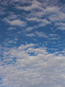 nubes y nubes...