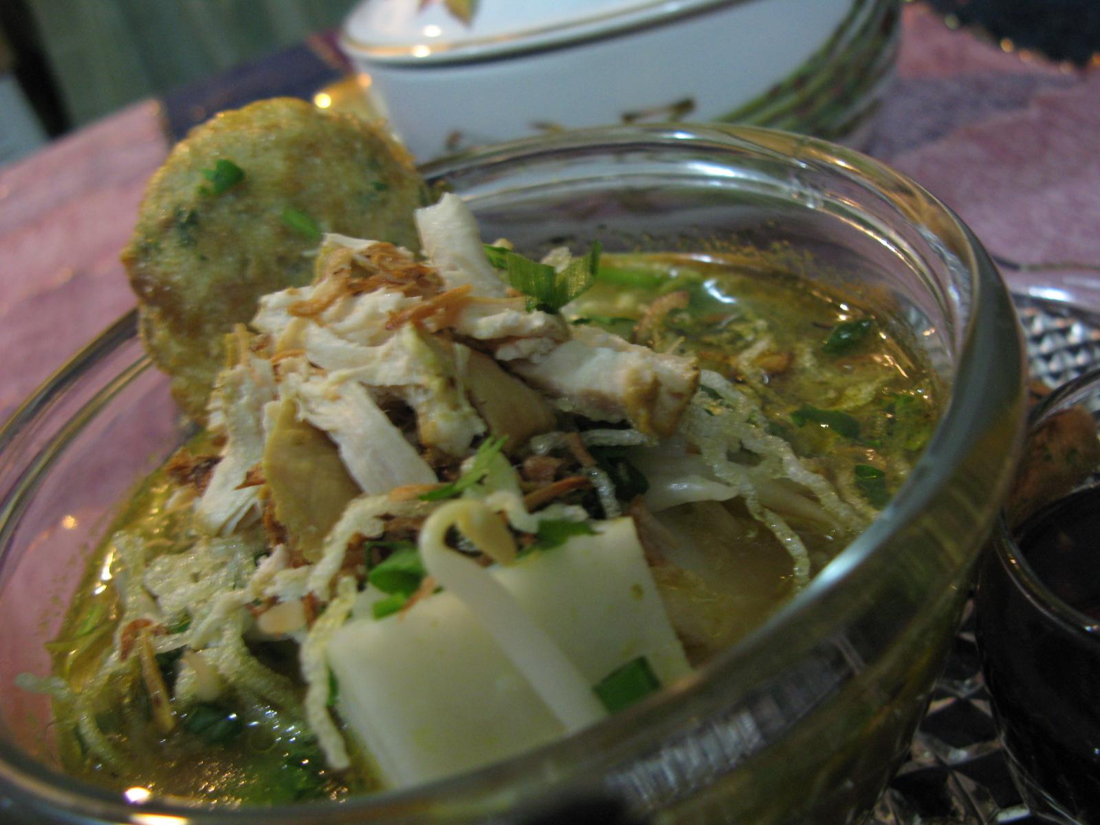 Soto Ayam - Cooking with Marina Mustafa