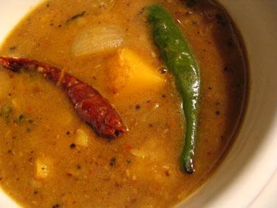Sambar- for Onasadhya