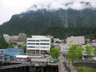 Juneau downtown, Alaska