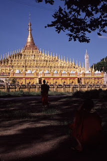 The awesome Thanboddhay Pagoda