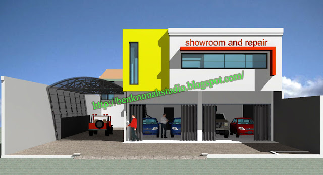 Design showroom 2 tak depan