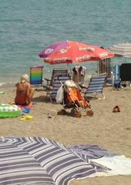 Difícil acceso público a las playas por falta de pasarelas