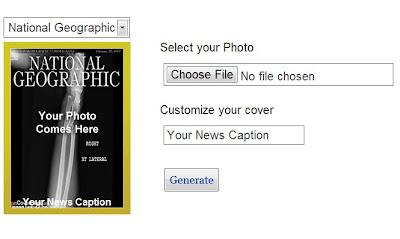 Situs untuk Mengedit Foto Menjadi Cover Majalah