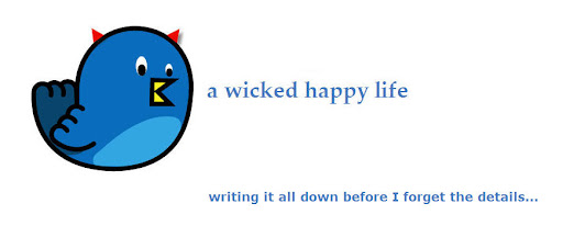 a wicked happy life