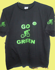 Go Green T-Shirt Front Side
