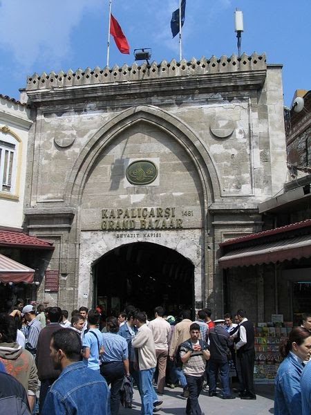 grand bazaar beyazit gate