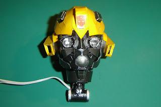 bumblebee transformers papercraft
