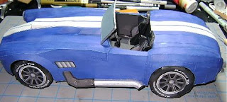 Ford Cobra Papercraft