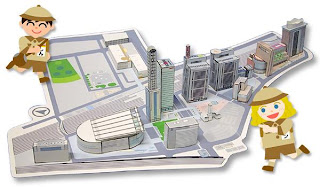 saitama building ペーパークラフト