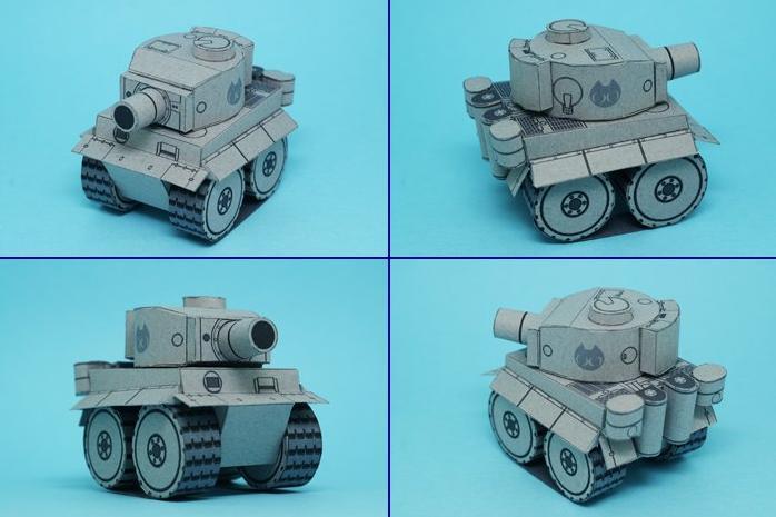 Сделай танк своими руками из бумаги