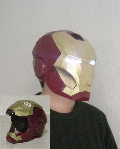 Metroid Pepakura http://papercraftparadise.blogspot.com/2010/06/wearable-iron-man-helmet-papercraft.html