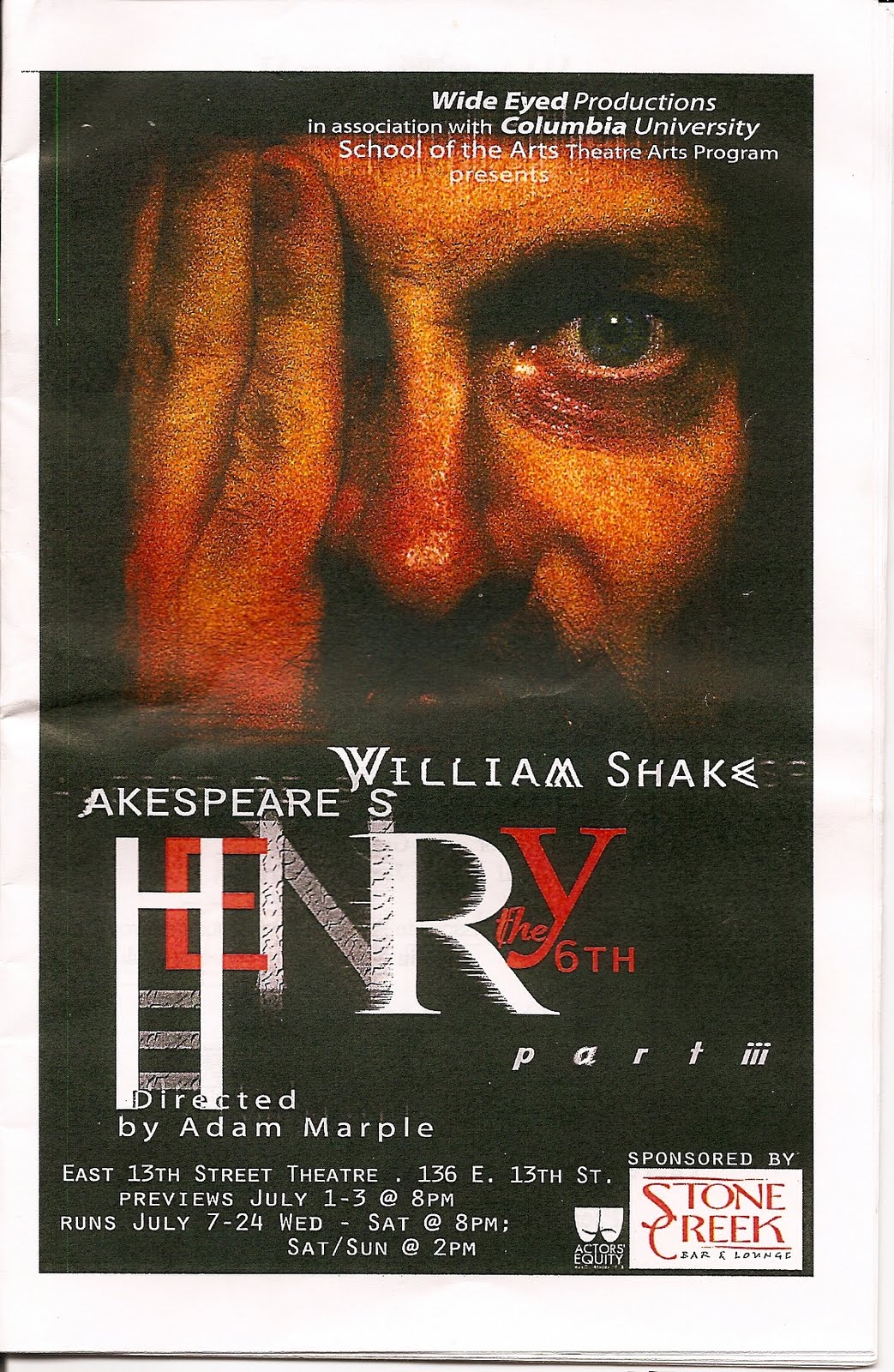 a play analysis of henry v Henry v, act iii, scene i [once more  once more unto the breach, dear friends, once more close fullscreen jump  in his poems and plays,.