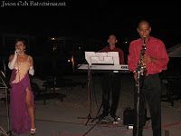 Jason Geh Live Band performing at the beach wedding