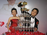 champagne pouring ceremony
